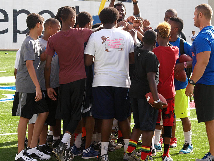Preregistration Closed for Walk-On's Independence Bowl Youth Football Clinic