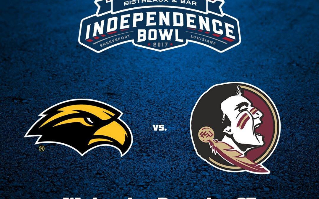 Southern Miss; Florida State to Face Off in Walk-On's Independence Bowl