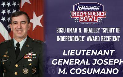 """Joseph M. Cosumano, Jr. to Receive 2020 Omar N. Bradley """"Spirit of Independence"""" Award"""
