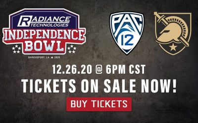 Public Tickets on Sale for 2020 Radiance Technologies Independence Bowl