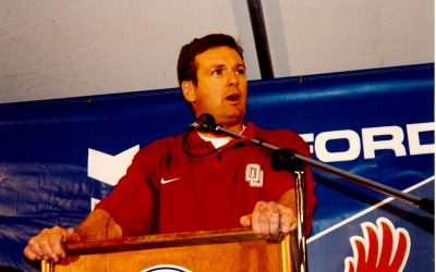 Bob Stoops Named Member of 2021 College Football Hall of Fame Class