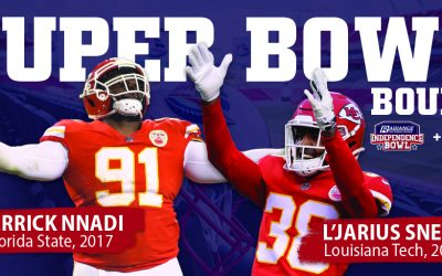 Four I-Bowl Alumni Head to Super Bowl LV