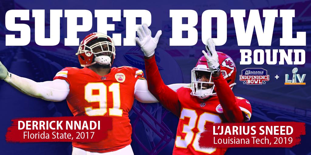 Four I-Bowl Alumni Head to Super Bowl LV