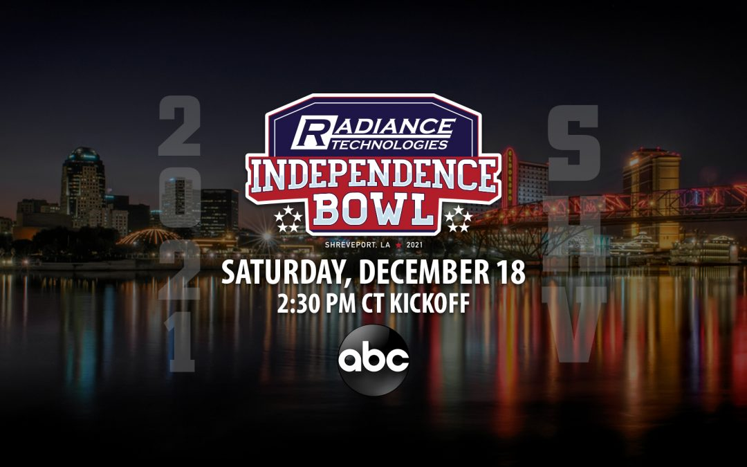 45th Radiance Technologies Independence Bowl Set for Saturday, December 18 on ABC
