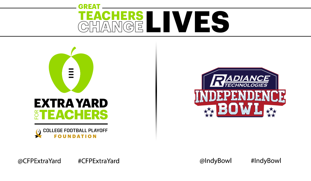 Independence Bowl to Award Total of Over $10,000 to Local Teachers